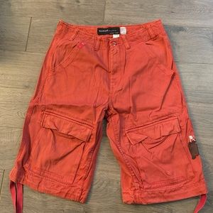 Men's rocawear red summer shorts size 32